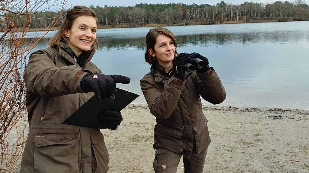 Diese Rangerinnen hüten Reinickendorfs Natur