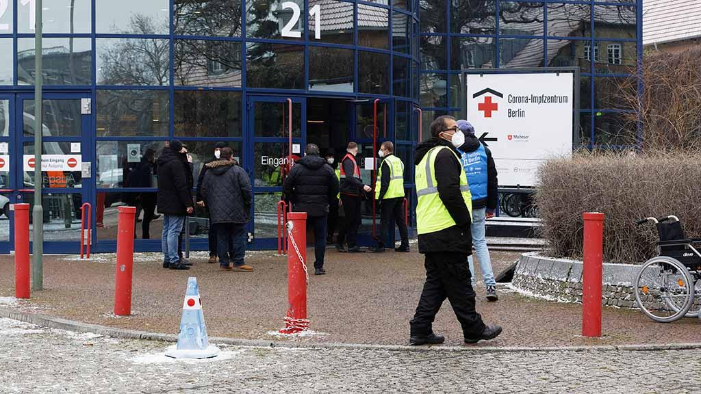 Drittes Corona-Impfzentrum für Berlin