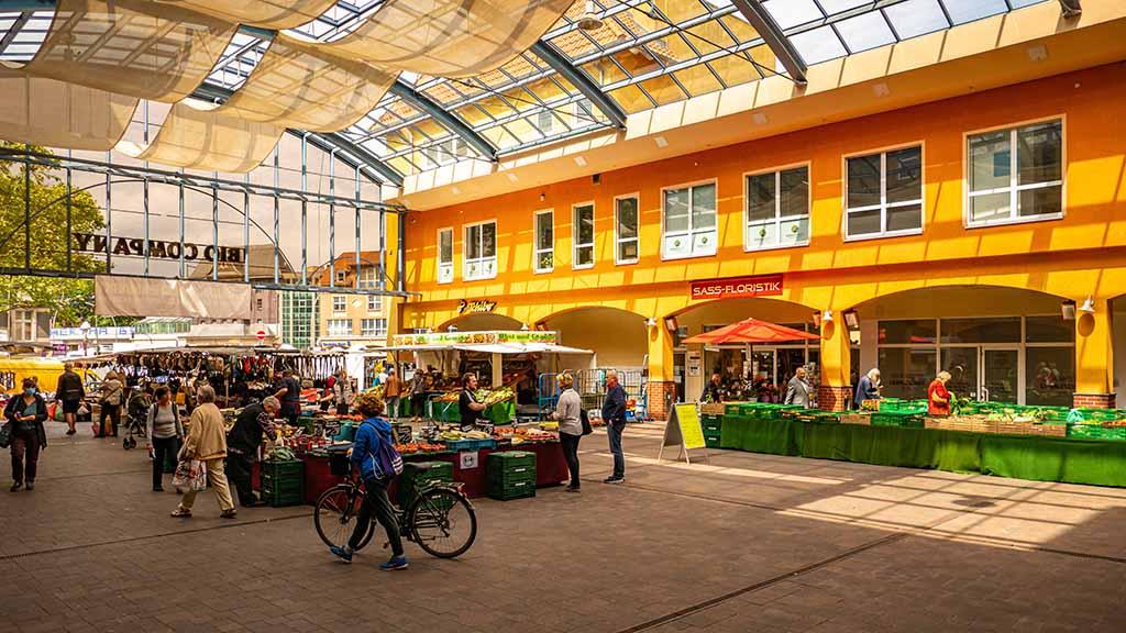 Berlin-Lichterfelde: Investor plant Markthalle am Kranoldplatz