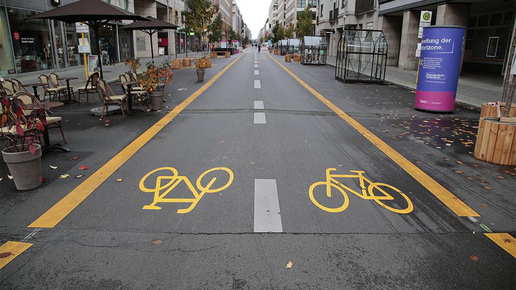 Berlin-Mitte: Friedrichstraße bleibt länger autofrei