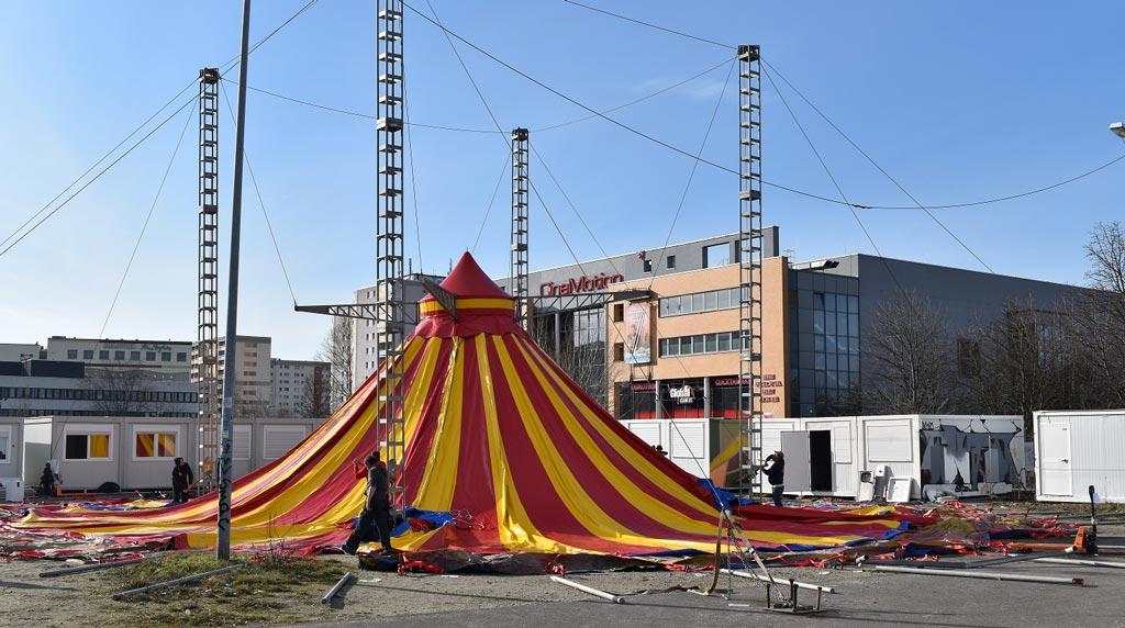 Cabuwazi hat jetzt auch ein Zelt in Lichtenberg