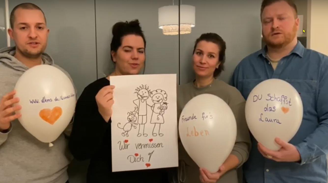 Marzahn-Hellersdorf: Lauras Freunde helfen bei der Suche nach einer Stammzellenspende
