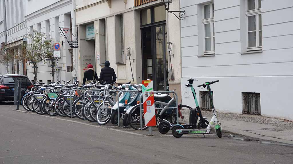 Parkzone für Roller