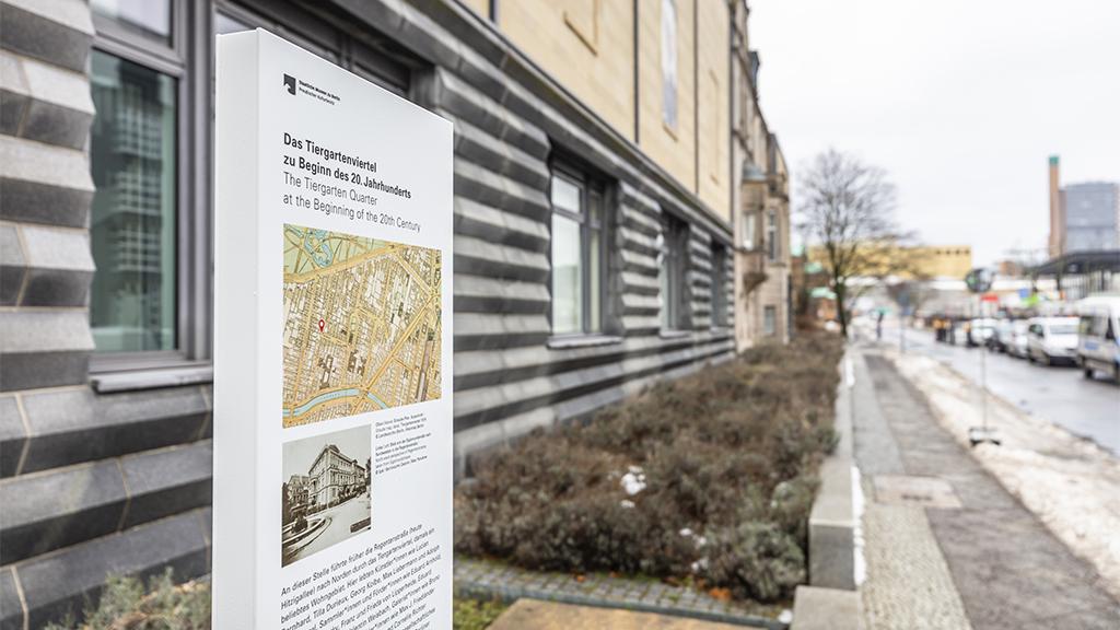 Gedenkstele erinnert an Geschichte des Tiergartenviertels