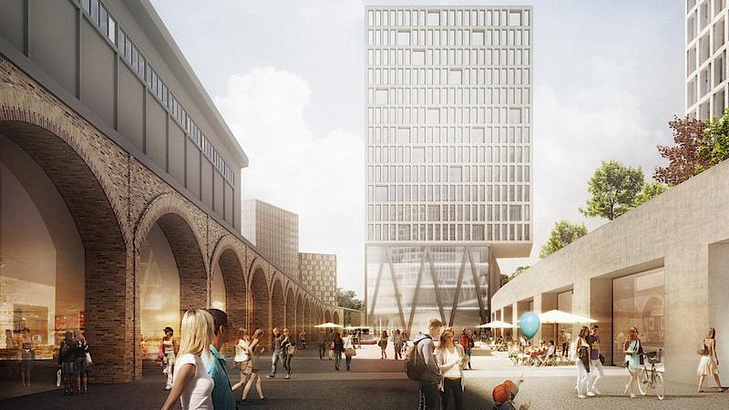 """Berlin-Kreuzberg: Kritik an Projekt """"Urbane Mitte"""" am Gleisdreieck-Park"""