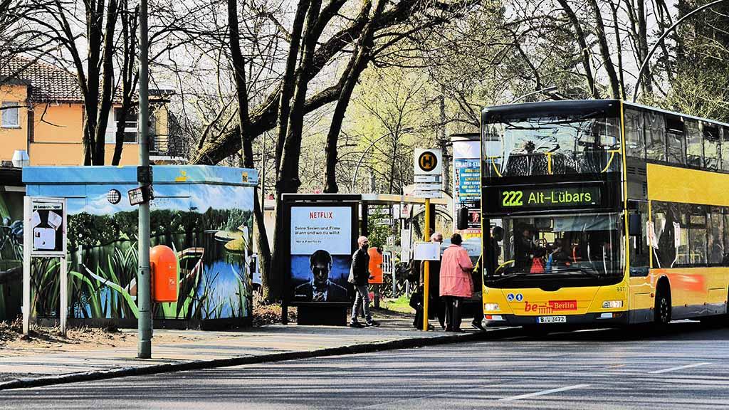 Bessere Busverbindungen für Konradshöhe, Tegelort und Heiligensee