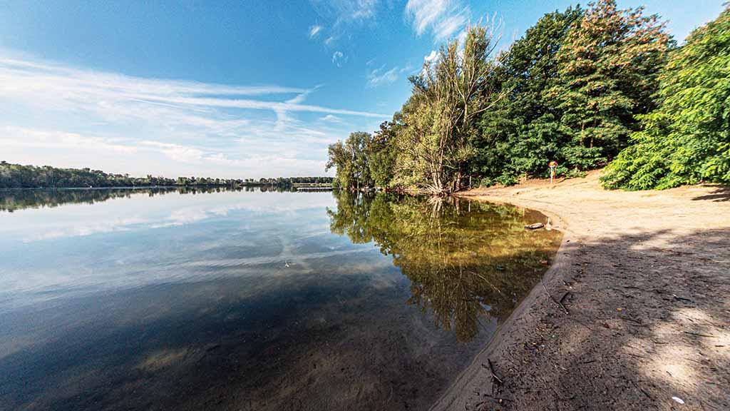 Berlin-Tegel: Wird der Flughafensee zum kostenpflichtigen Freibad?
