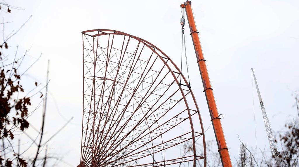 Spreepark: Das Original-Riesenrad bleibt den Berlinern erhalten