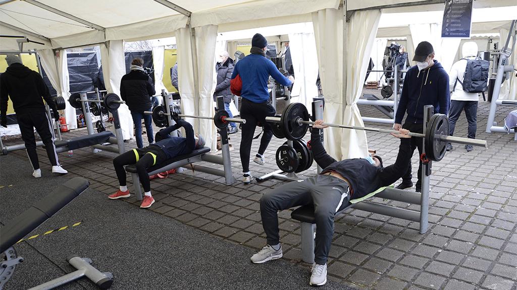 Berlin-Pankow: Erstes Outdoor-Fitnessstudio muss schon wieder schließen