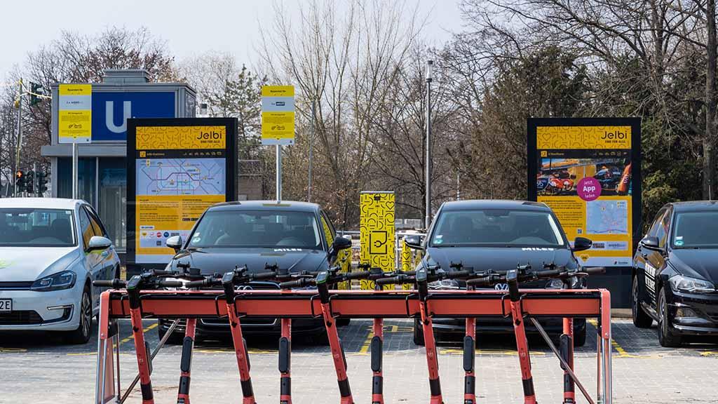 Sharing in Spandau: Weitere Jelbi-Station für Haselhorst