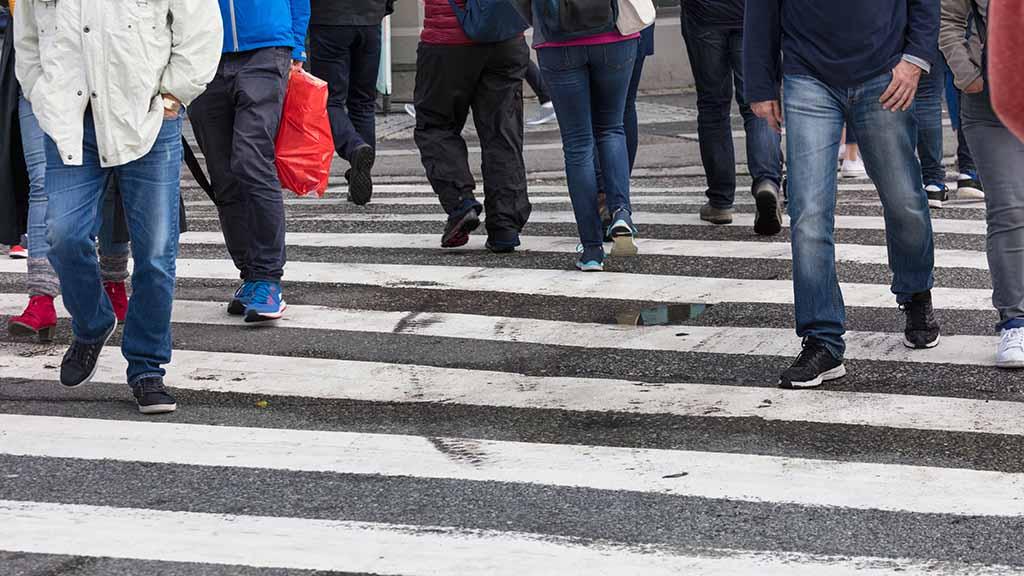 Neues Gesetz: Berlins Fußgänger sollen es besser haben