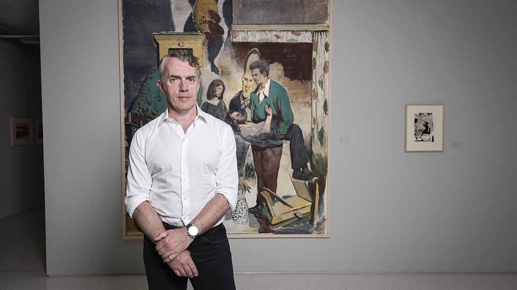 Weltstar der Kunst: Neo Rauch stellt im Gutshaus Steglitz aus