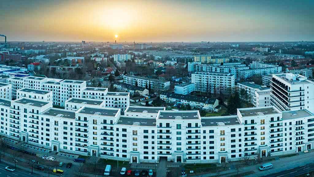 Paulsternstraße in Spandau: Knapp 500 Wohnungen vorzeitig fertig