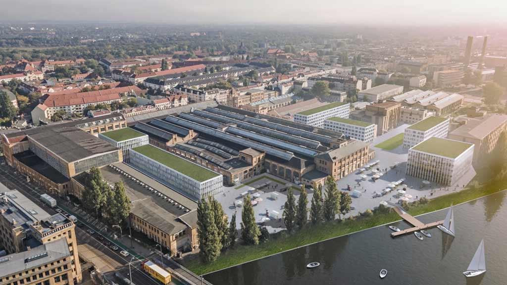 Oberschöneweide: Umbau in den Rathenau-Hallen startet