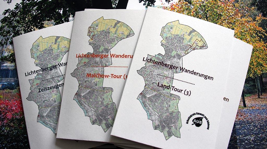 Touren durch Lichtenberg – Neue Karten jetzt erhältlich