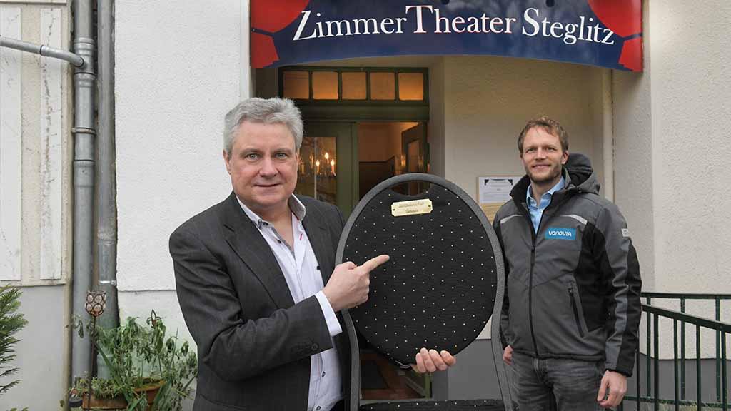 Zimmertheater Steglitz sucht Stuhlpaten