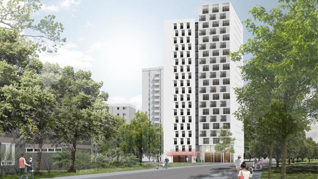 Neukölln: Ein weiteres Hochhaus für die Gropiusstadt