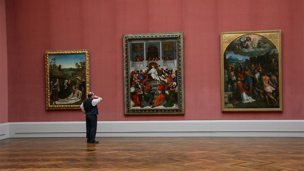 Die Gemäldegalerie bei einem digitalen Rundgang entdecken