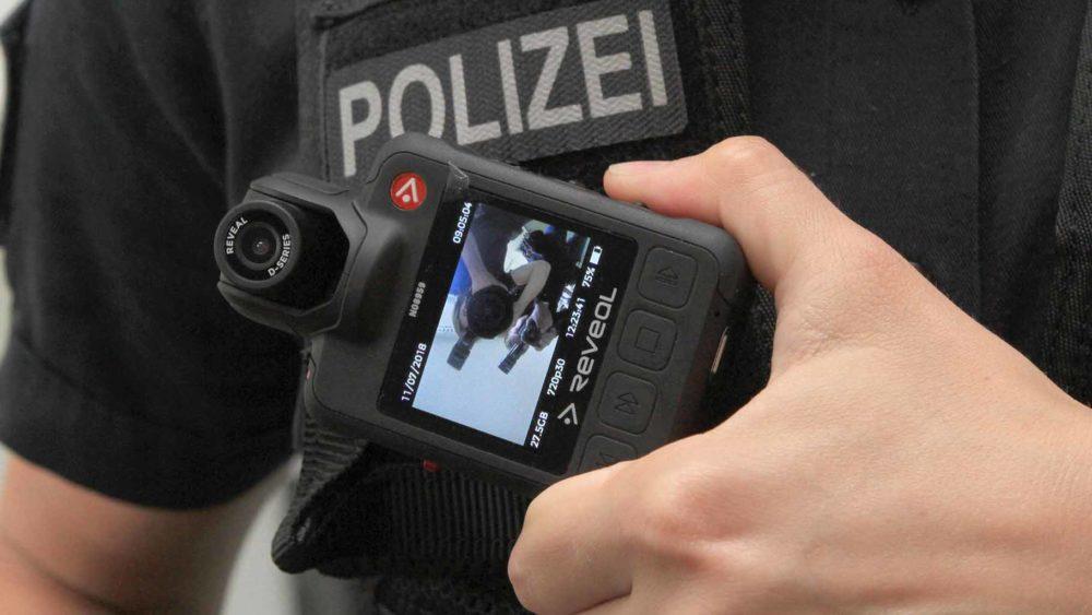 Berliner Polizisten erhalten Körperkameras