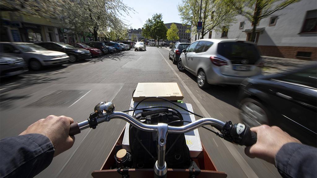 Senat plant Förderung von gewerblichen Lastenrädern