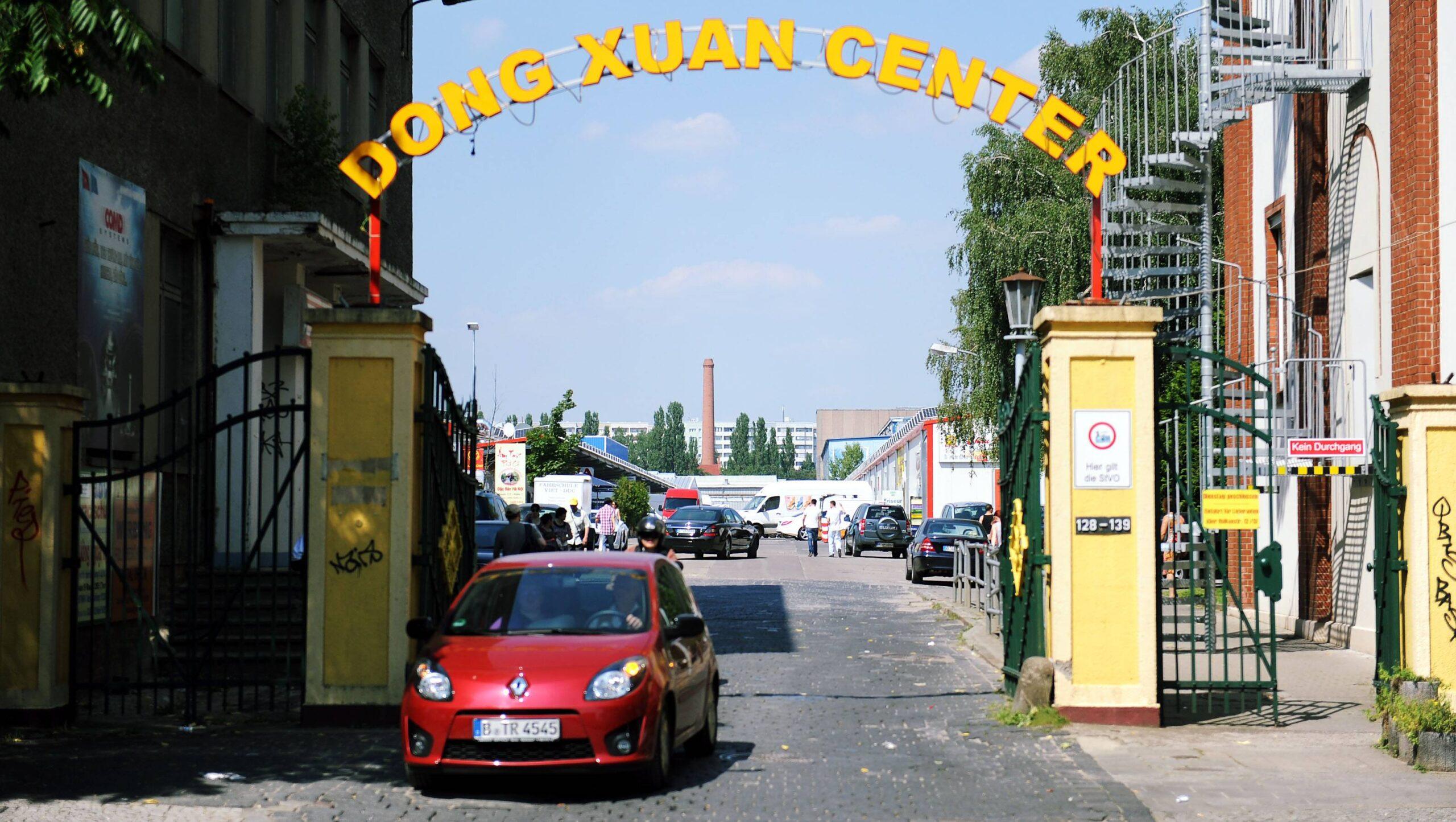 Lichtenberg: Asiamarkt-Center ist Anlaufstelle für Schleuser