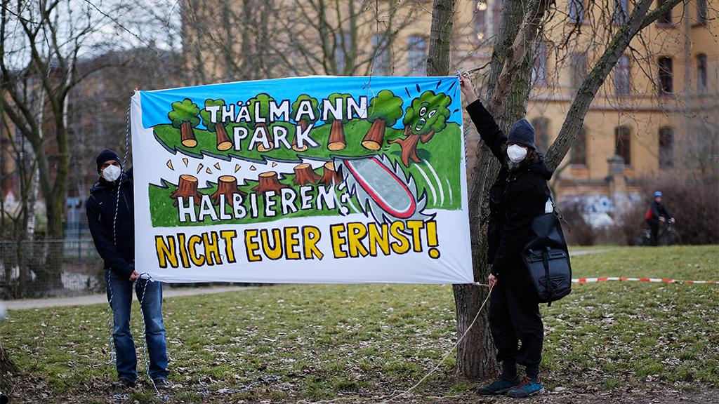 Pankow: Bezirksamt will über Schulanbau im Thälmann-Park aufklären