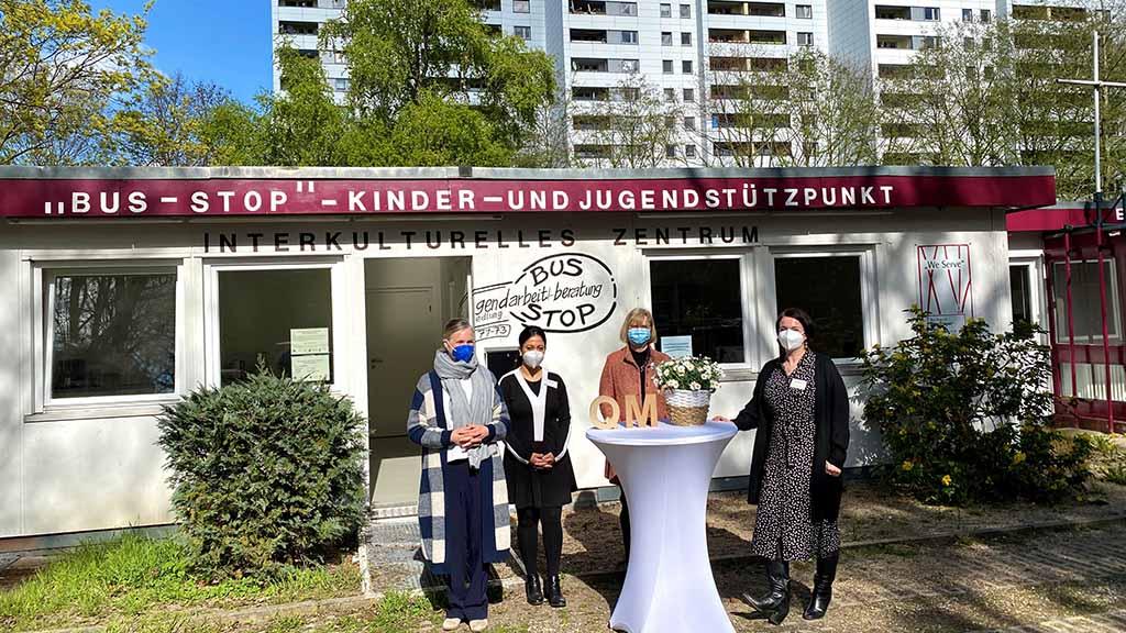 Berlin-Lichterfelde: Quartiersmanagement in Thermometersiedlung ist eröffnet