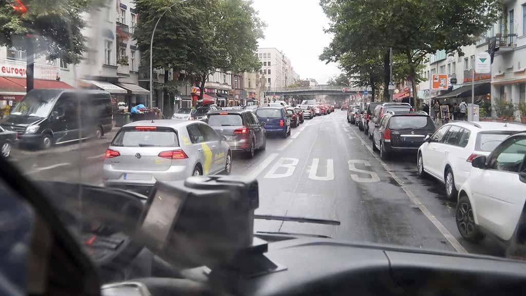 Mehr Busspuren für Berlin