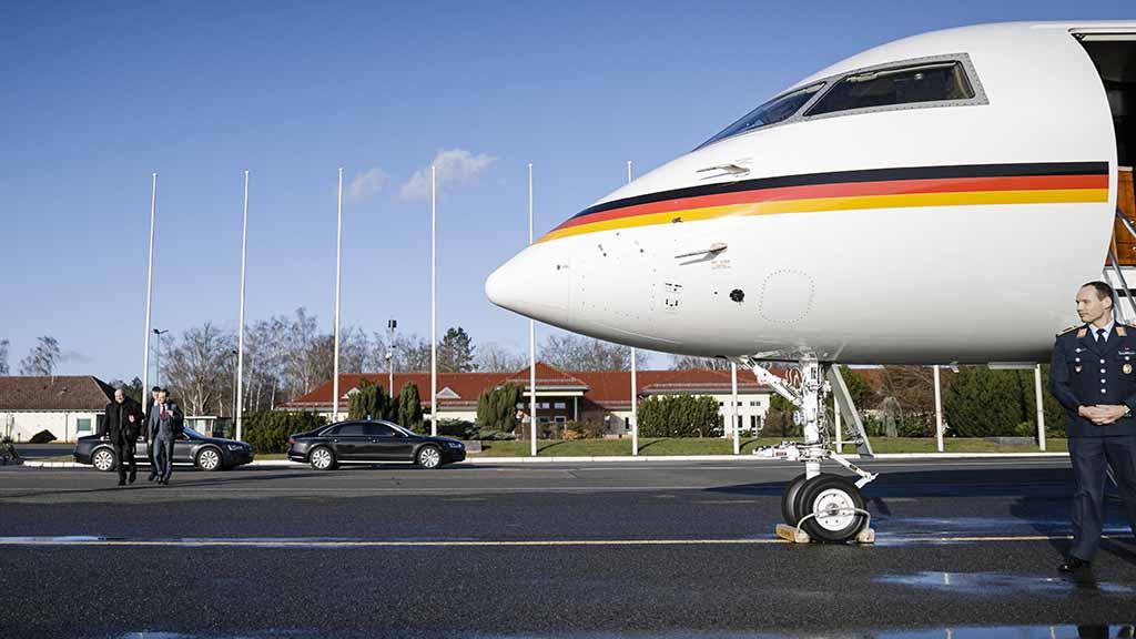 Berlin-Tegel: Flugbereitschaft zieht früher zum BER