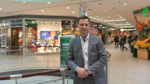 Peter Schönbrunn, Centermanager des Pankower Rathaus-Centers