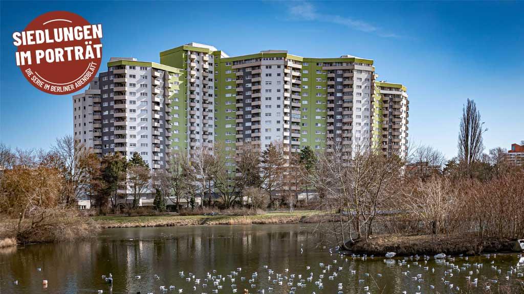 Das Märkische Viertel: viel Beton und reichlich Grün