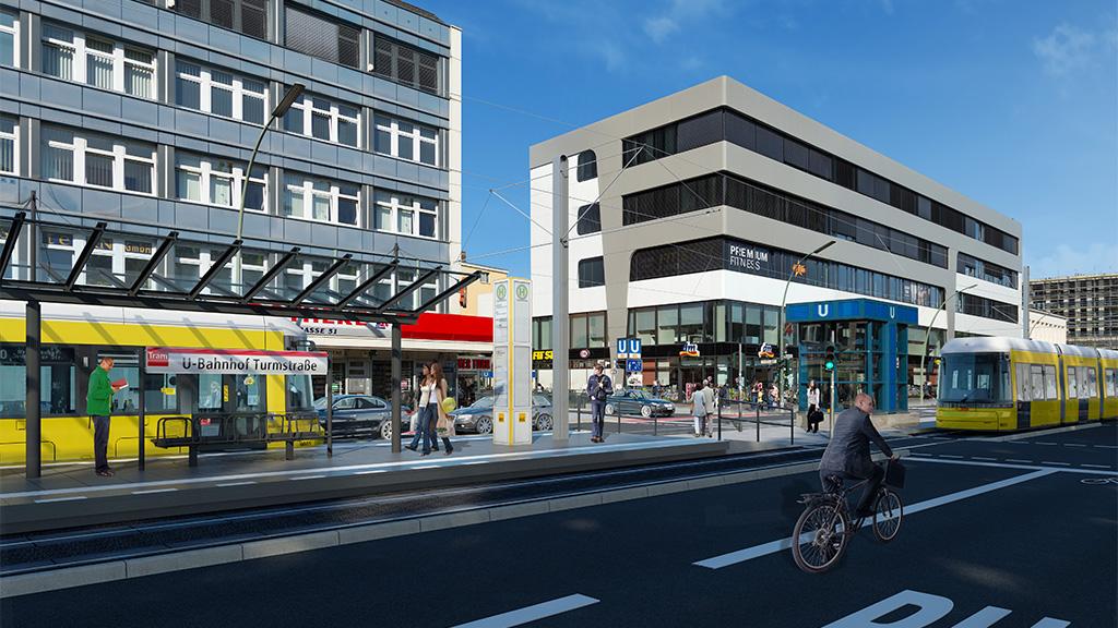 Planungen gestartet: Mit der M10 bis zum Bahnhof Jungfernheide