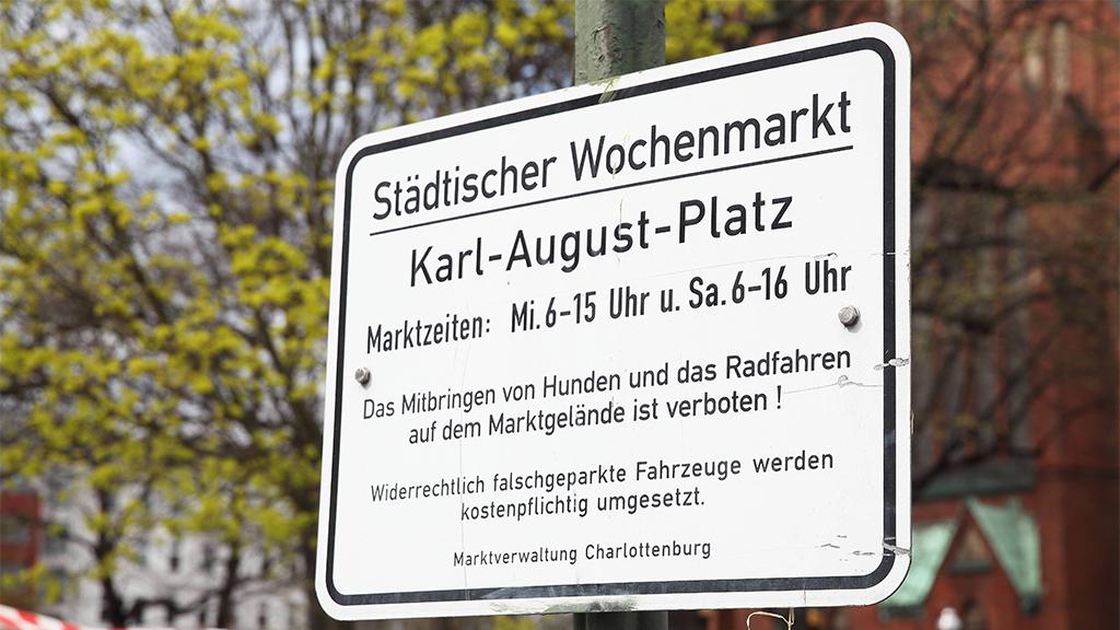 Berlin-Charlottenburg: Kritik an Sperrung der Krummen Straße