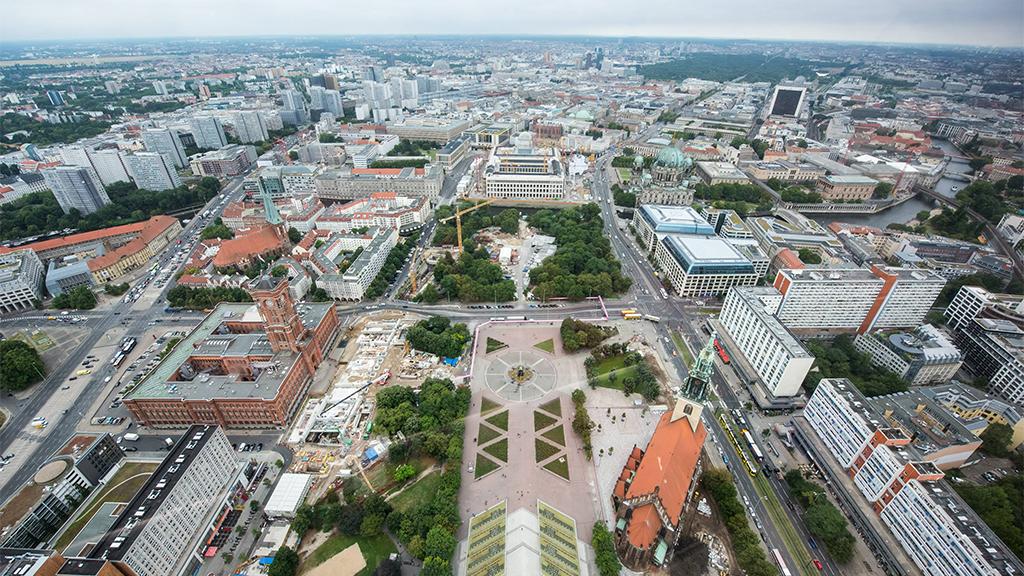 Marx-Engels-Forum: Viele neue Ideen für Berlins alte Mitte
