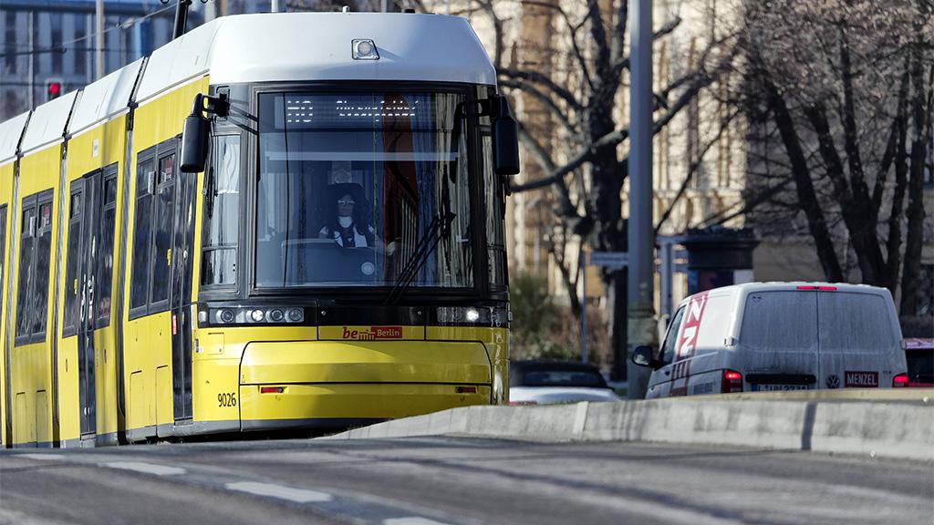 Mit der Straßenbahn von Weißensee direkt nach Pankow