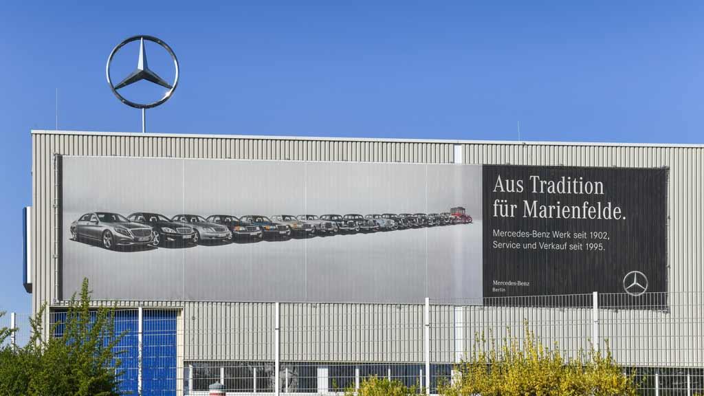 Berlin-Marienfelde: Job-Abbau für den E-Daimler?