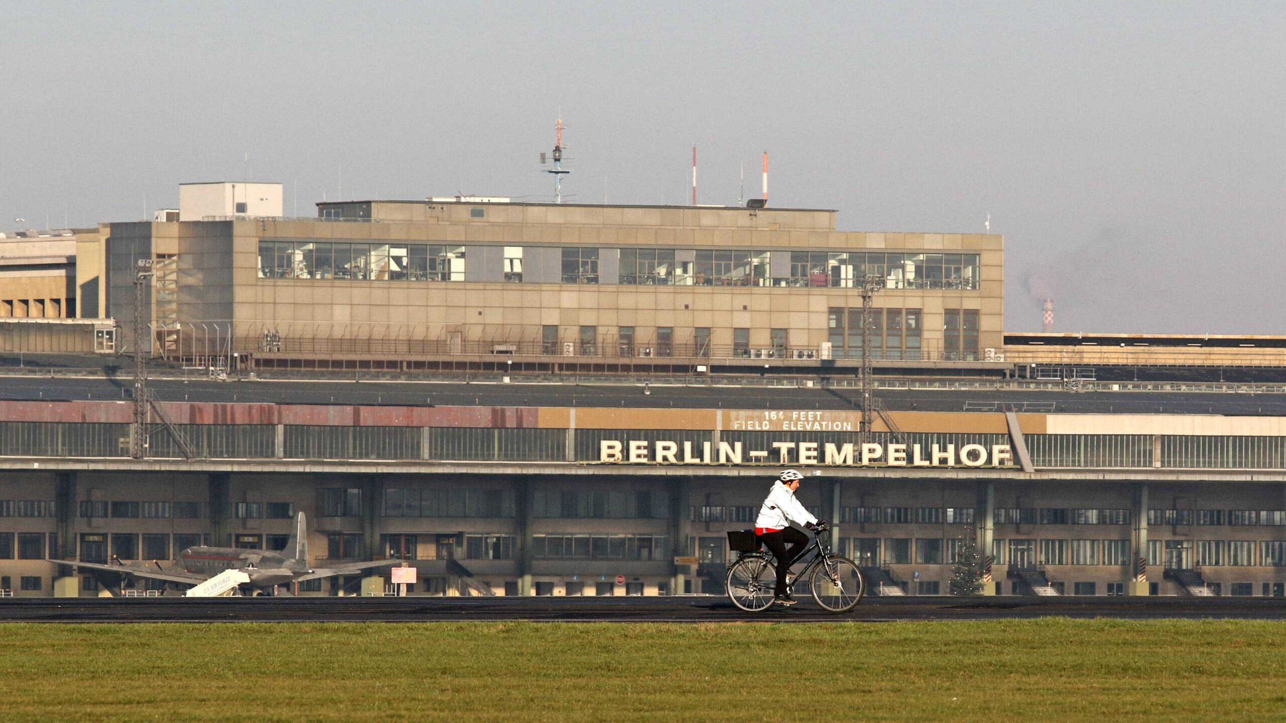 Der Flughafen Tempelhof wird klimaneutral