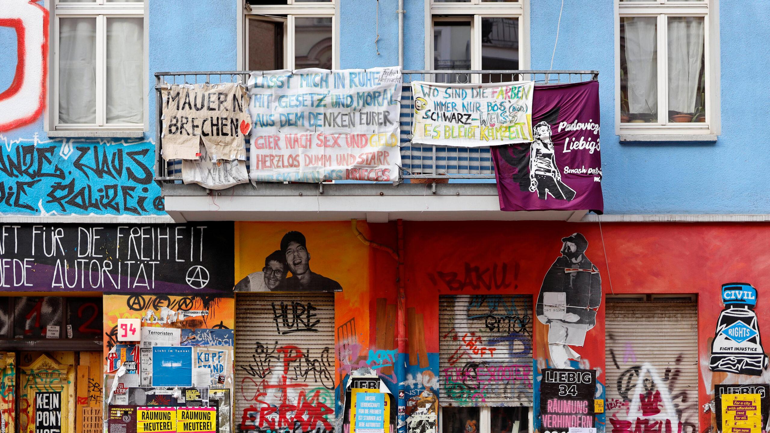 Friedrichshain: Brandschutzbegehung von Rigaer 94 erst Mitte Juni