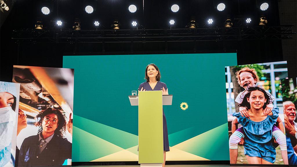 Berlin-Mitte: Grünen-Kreisverband gratuliert Annalena Baerbock