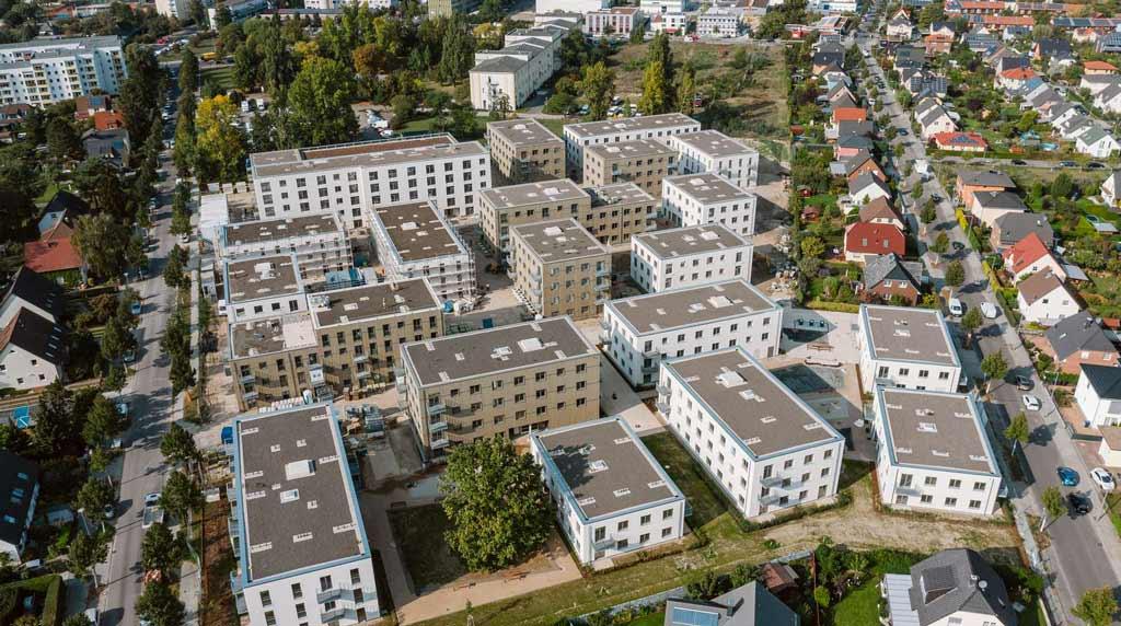 Klimafreundlich und autofrei: Neuer Kiez am Landschaftspark Johannisthal