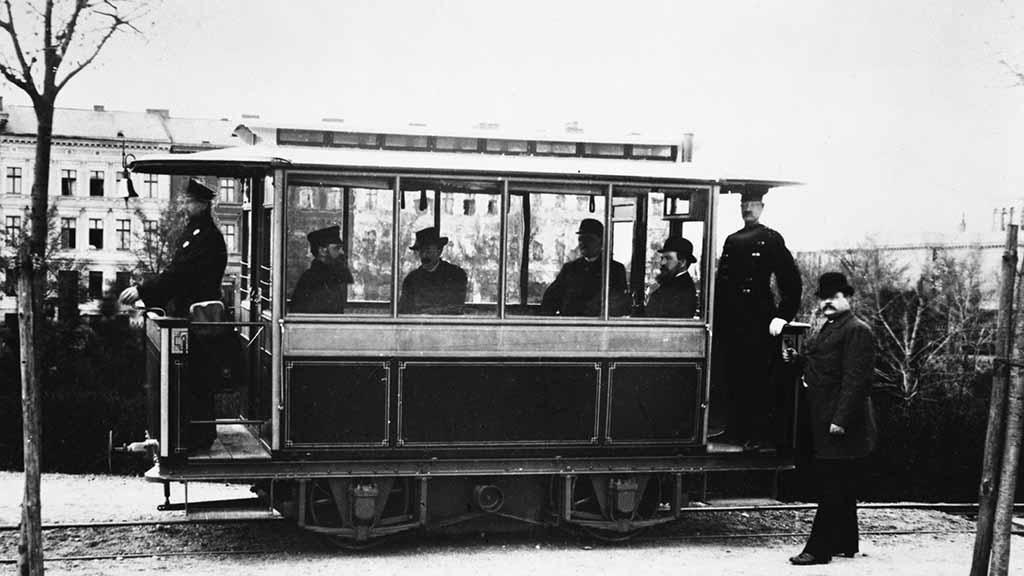 Berlin-Lichterfelde: Hier startete vor 140 Jahren die erste Straßenbahn der Welt