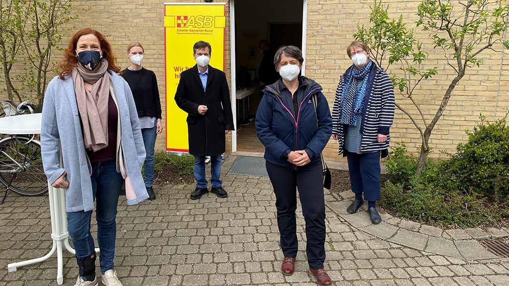 Neues Corona-Testzentrum in Berlin-Heiligensee