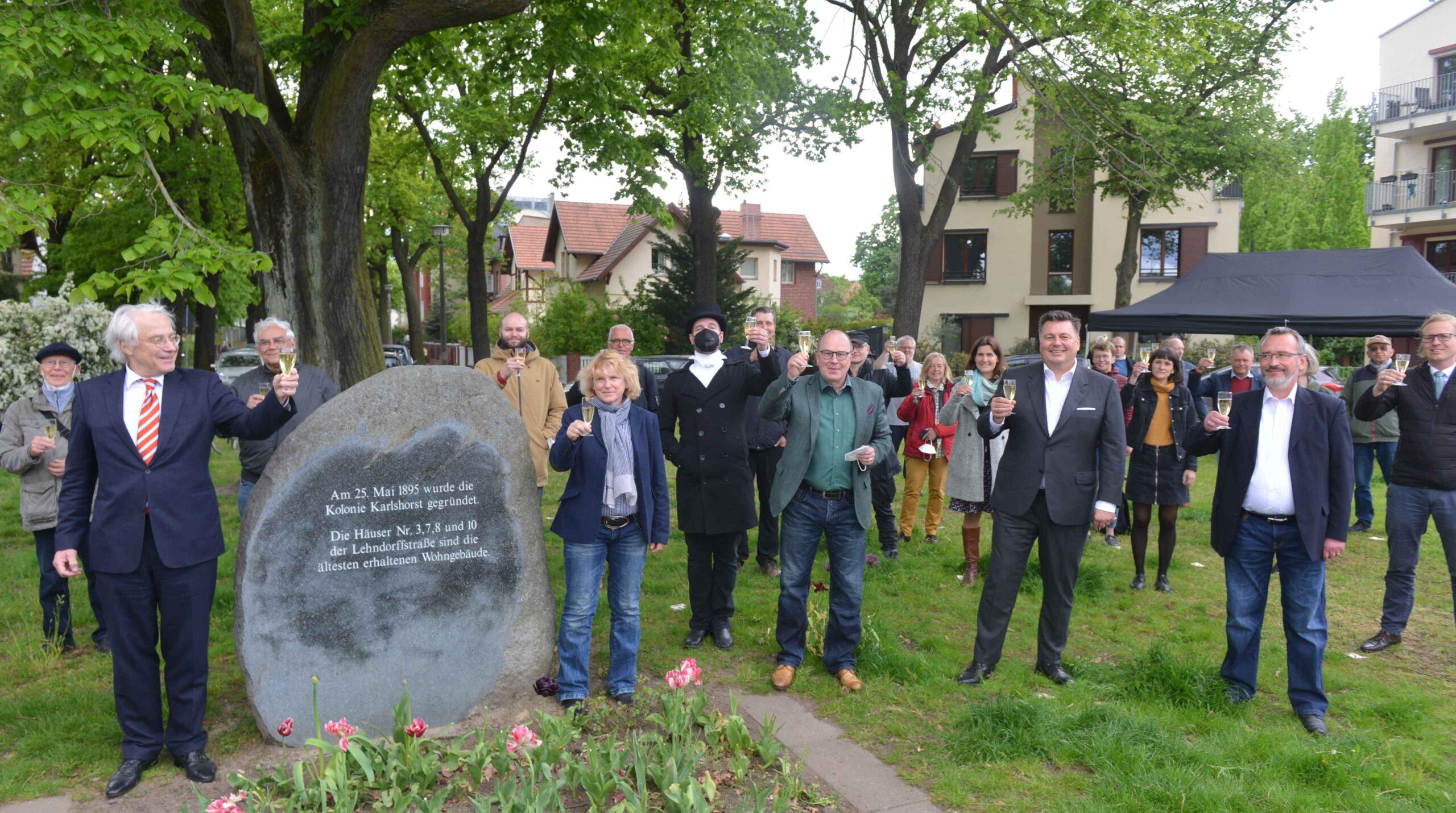 125 Jahre Karlshorst: Jubiläumsfeier nur in kleinem Rahmen