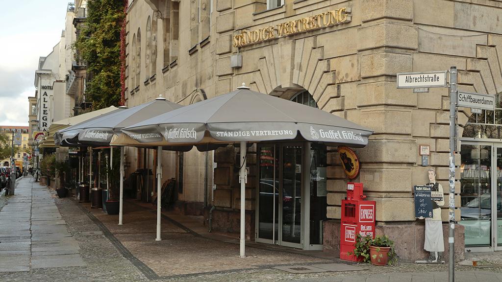 Berlin-Mitte: Acht Lokale testen Öffnung der Innengastronomie