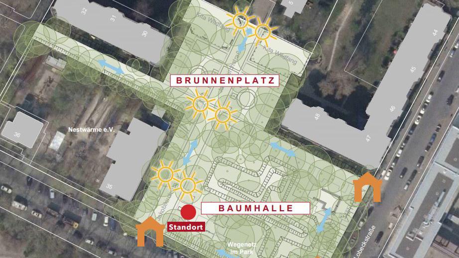 Kreuzberg: Vieles wird neu im Quartierpark Ritter-/Lobeckstraße