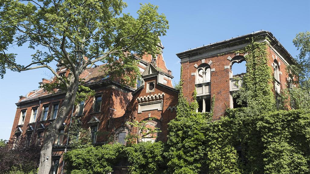 Berlin-Wedding: Ausstellung zeigt Sanierungspläne für die Wiesenburg