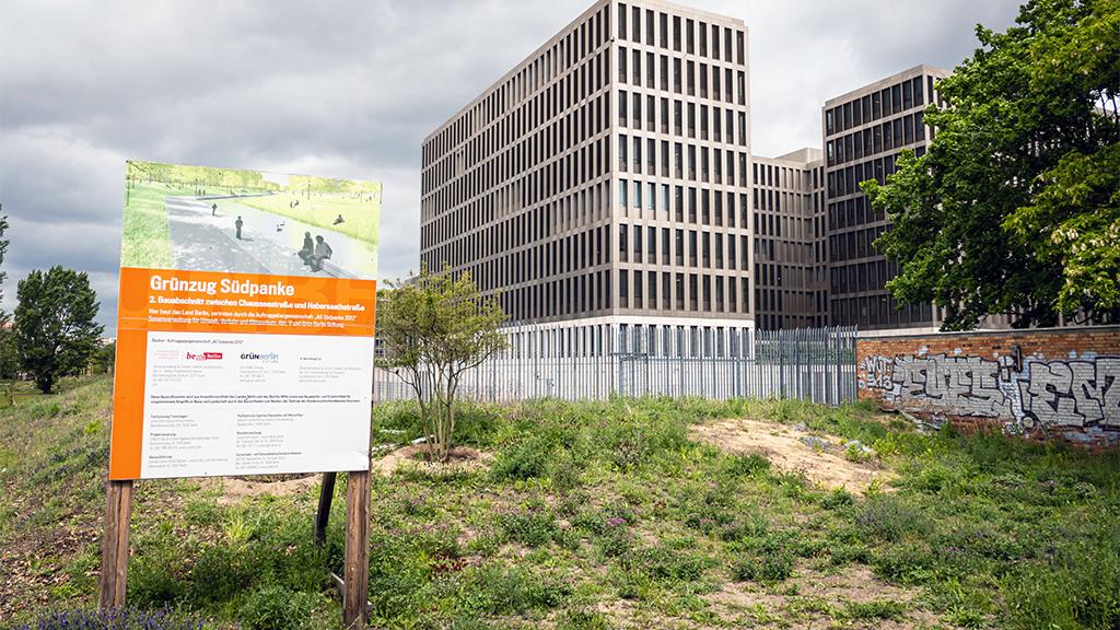 Berlin-Mitte: Neuer Grünzug an der Panke eröffnet