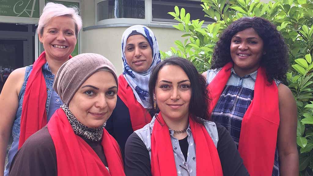 Stadtteilmütter helfen Familien im Märkischen Viertel