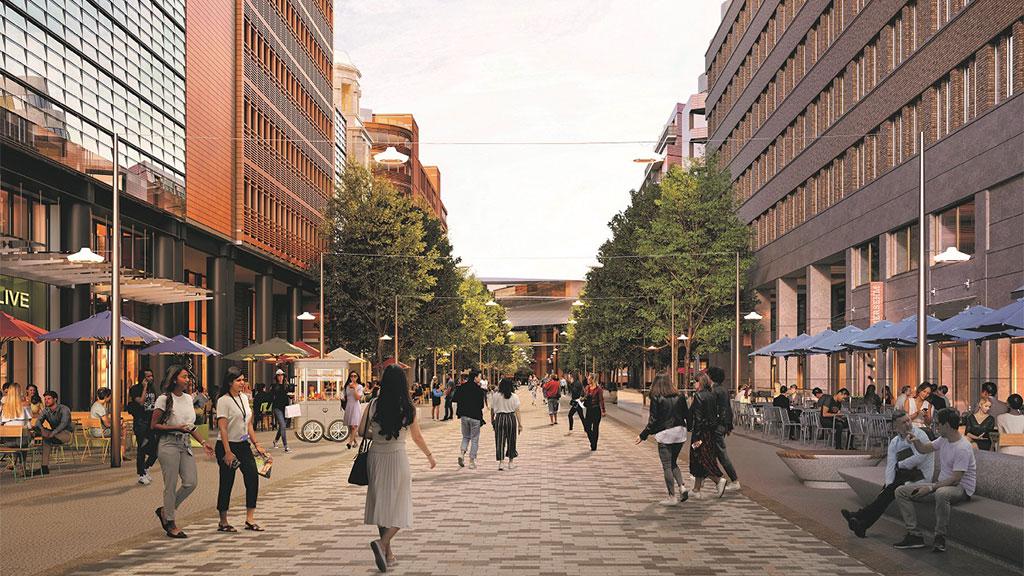 Potsdamer Platz wird bald grün und fußgängerfreundlich