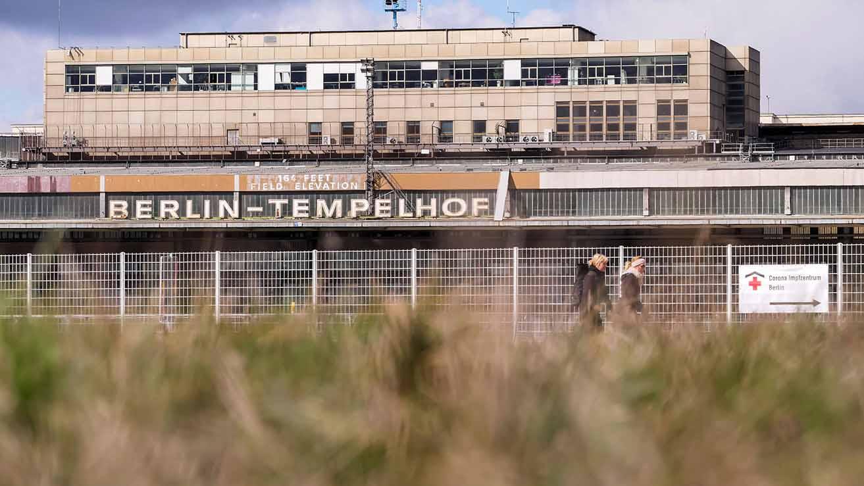 Flughafen Tempelhof wird klimaneutral saniert